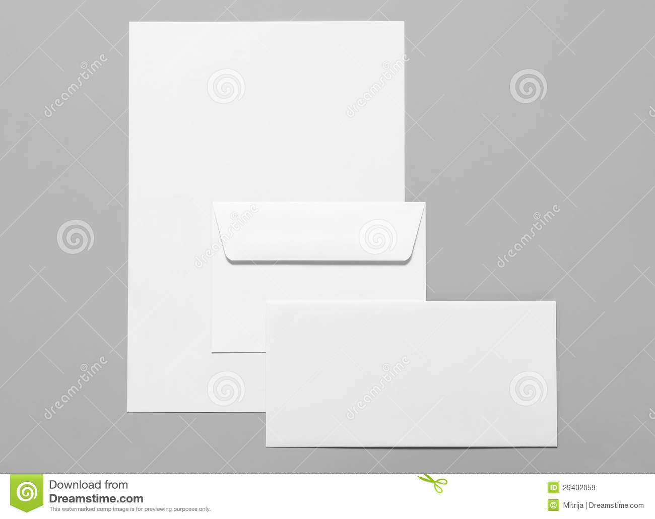Blank Stationery Royalty Free Stock Images - Image: 29402059