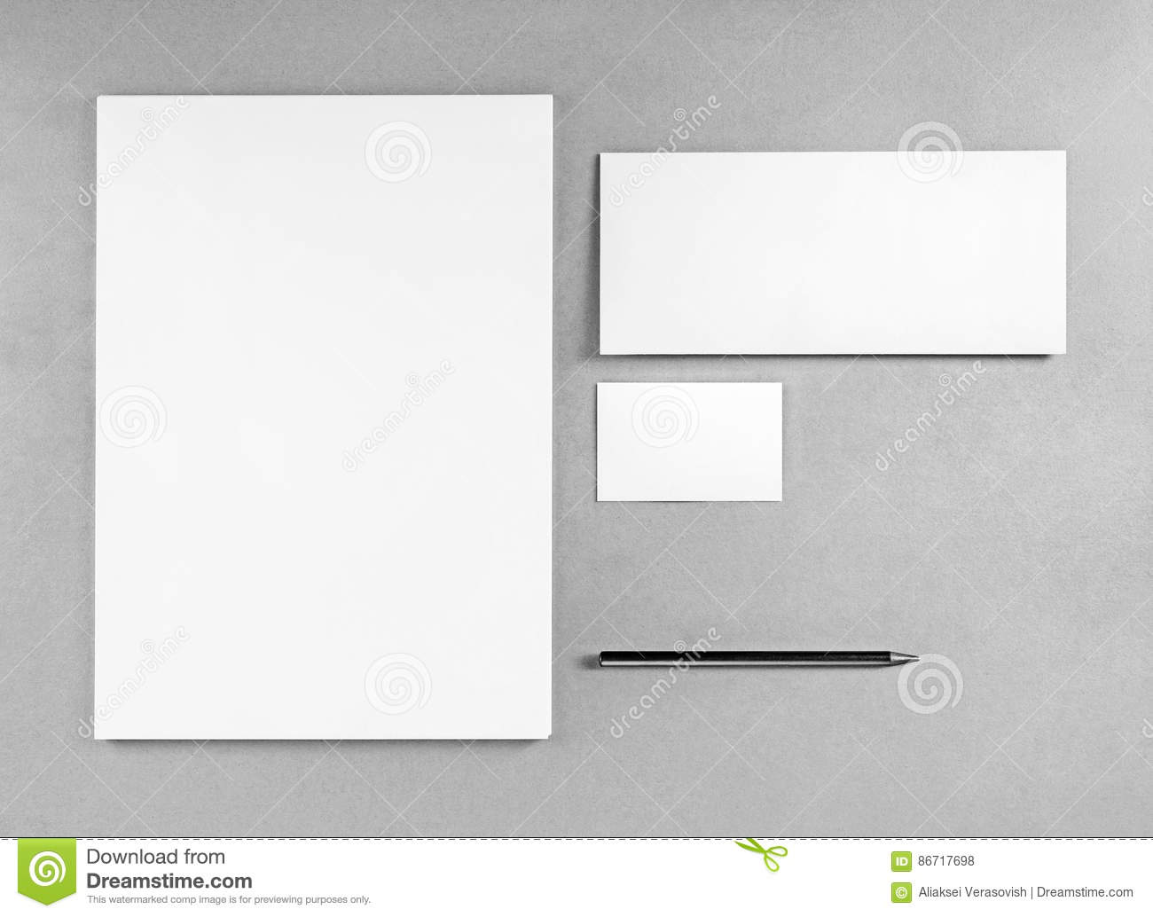 Blank stationery template stock photo image of cardboard 86717698 blank stationery template spiritdancerdesigns Choice Image