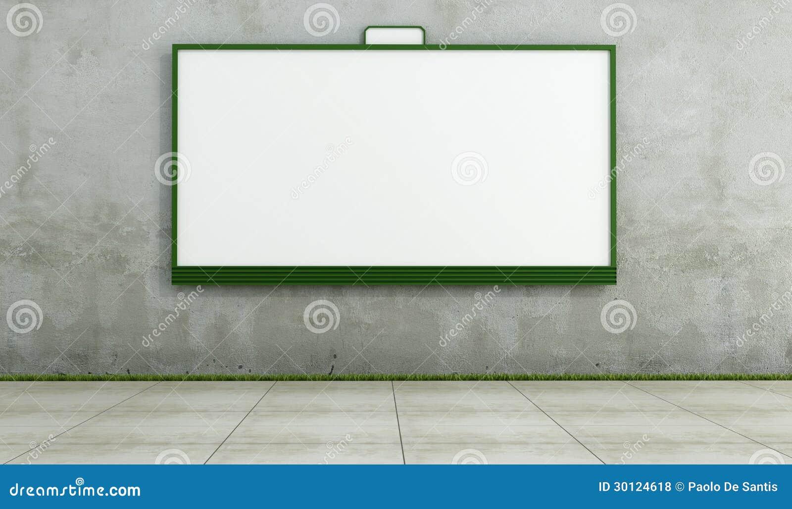 Blank Street Wall