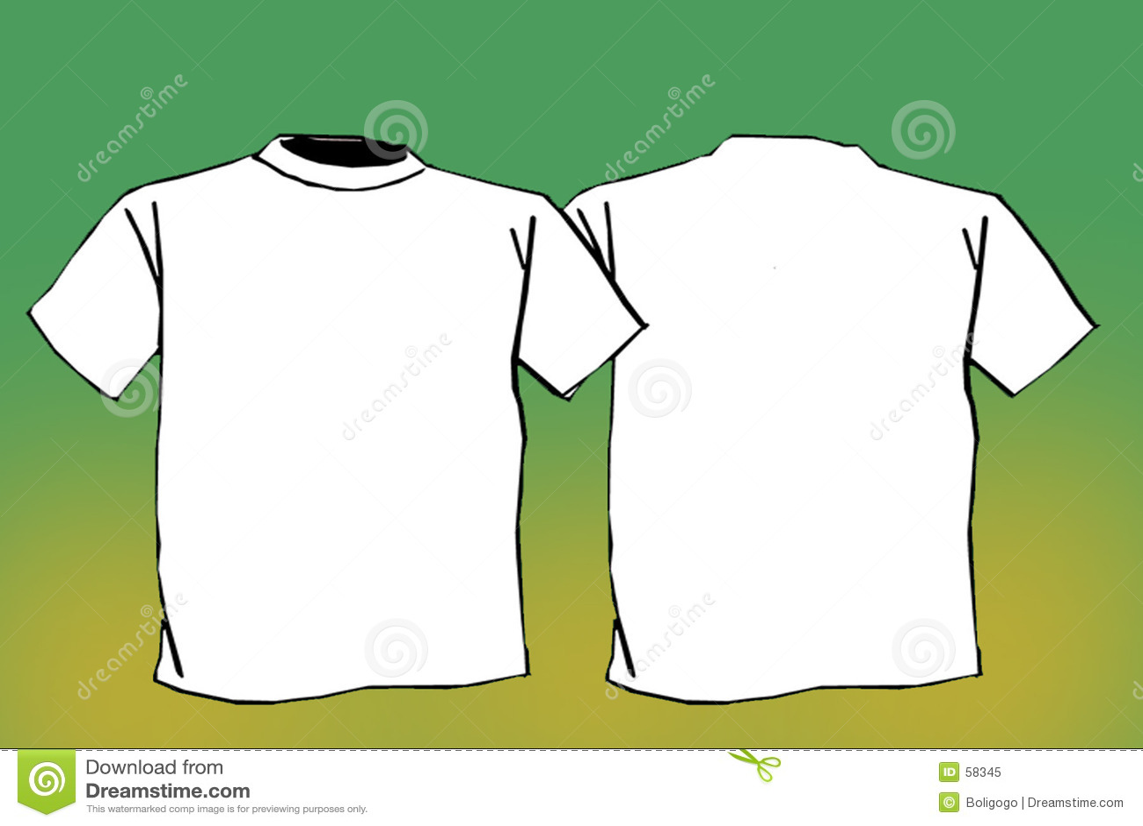 Blank t shirt royalty free stock photo image 58345 for Blank tee shirts com