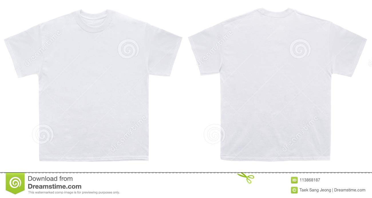 619 Blank White T Shirts Front Back Photos Free Royalty Free Stock Photos From Dreamstime