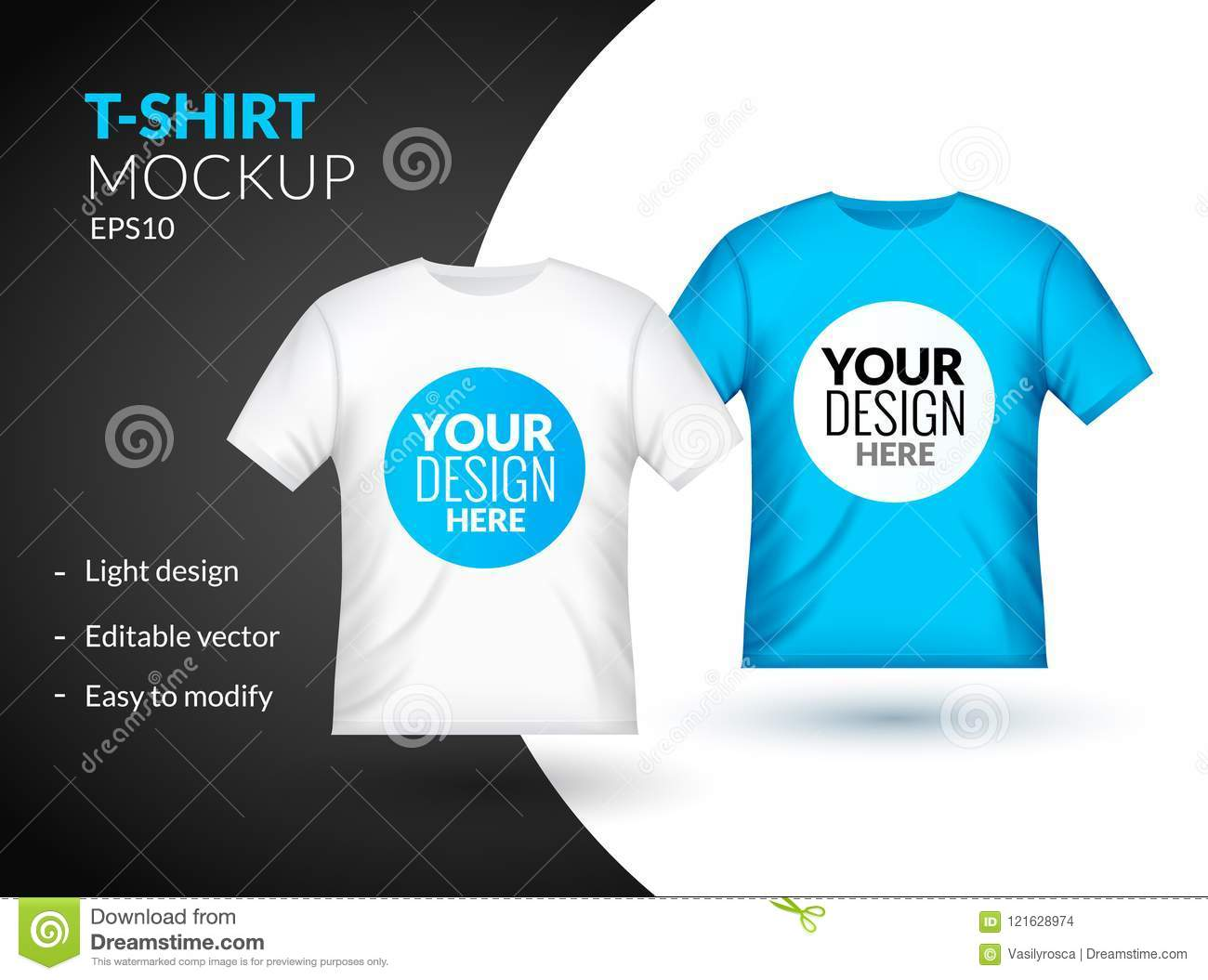 Light Blue T Shirt Template Dreamworks