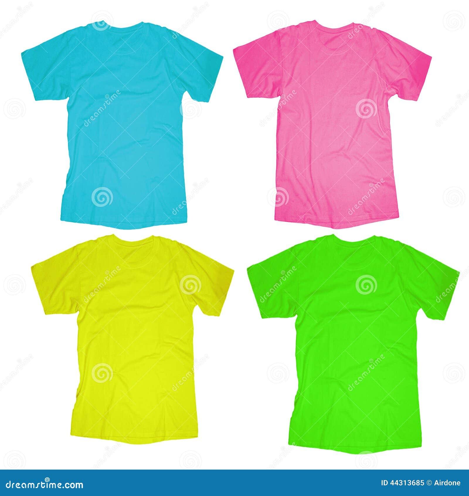 Shirt design green - Blank T Shirt Template Royalty Free Stock Photo