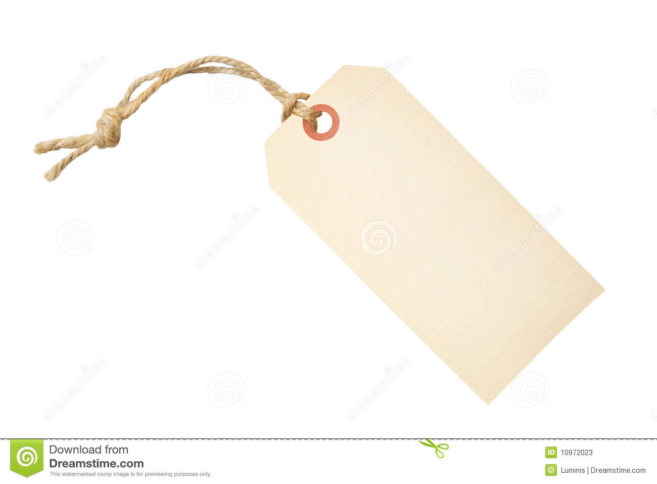 Blank Tag Label Stock Photos