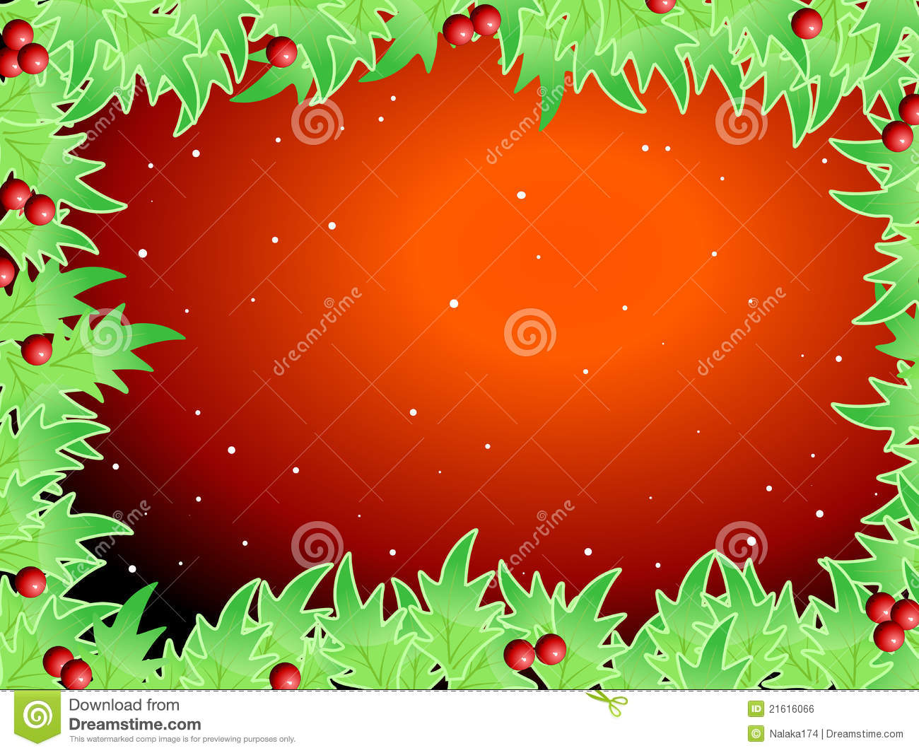 royalty free stock image  blank template for christmas greetings card  image  21616066