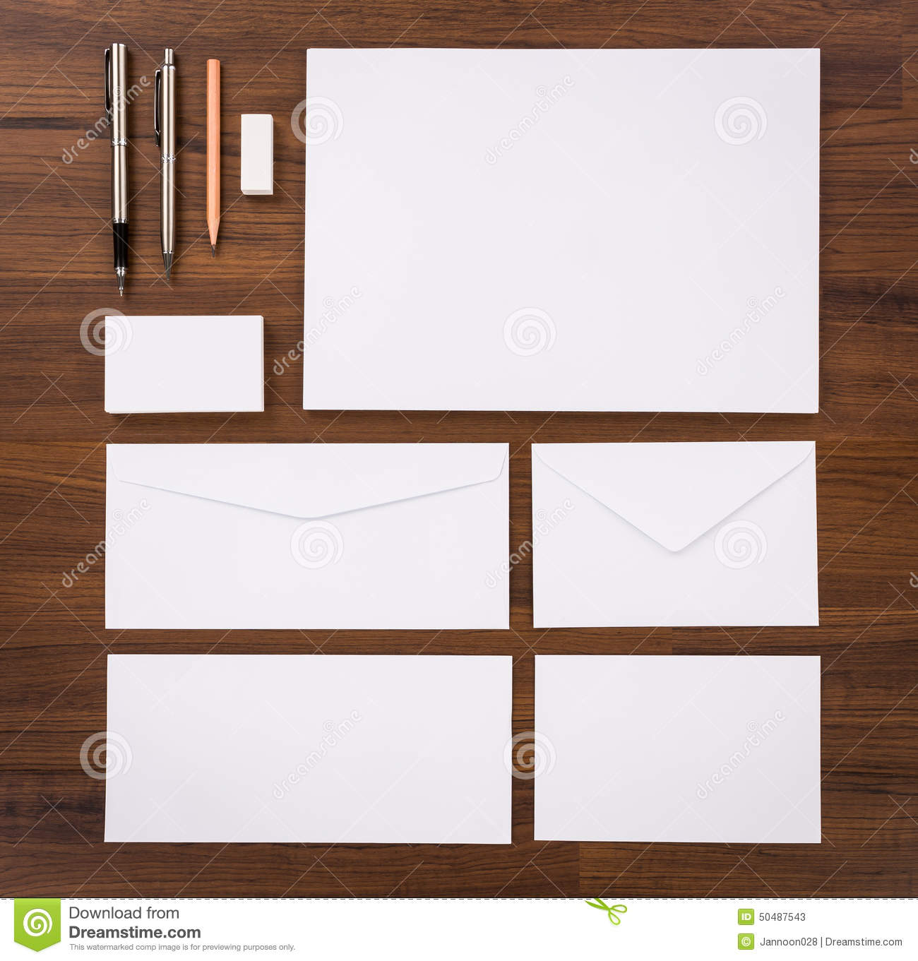 Blank template consist of business cards letterhead a4 pen e download blank template consist of business cards letterhead a4 pen e stock reheart Image collections
