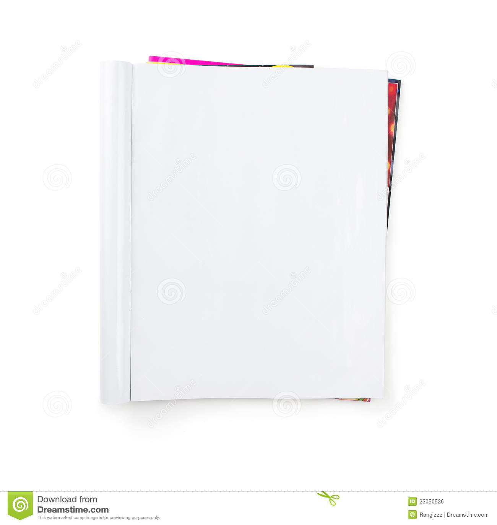 Blank tidskriftbunt