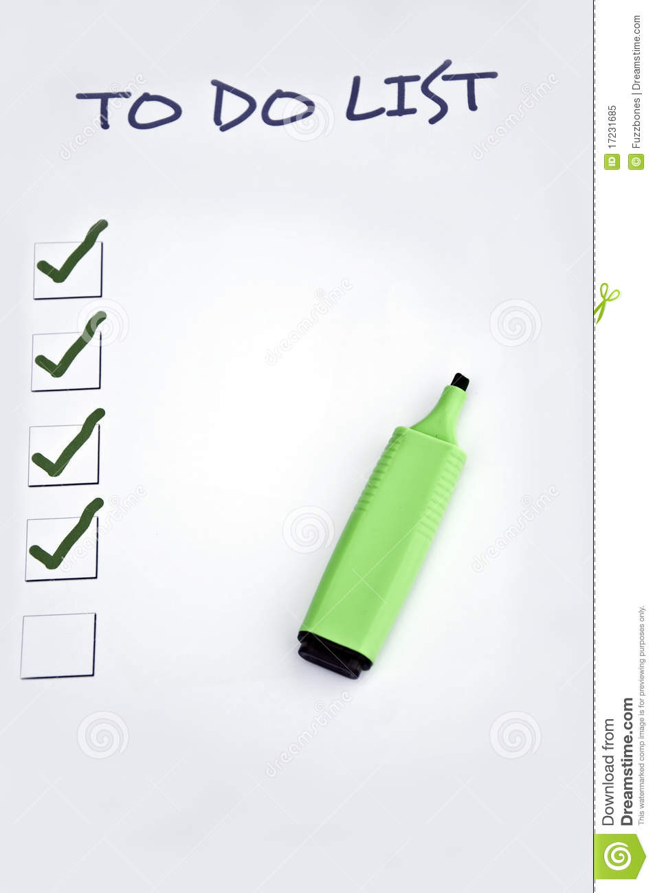 It is a photo of Declarative To Do List Images