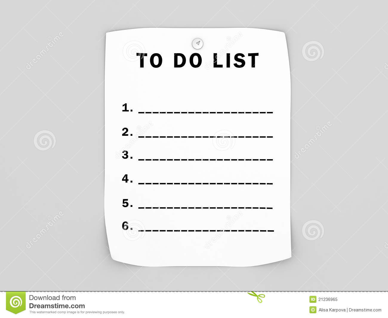 photograph regarding Blank to Do List called Blank in direction of do listing inventory case in point. Example of label