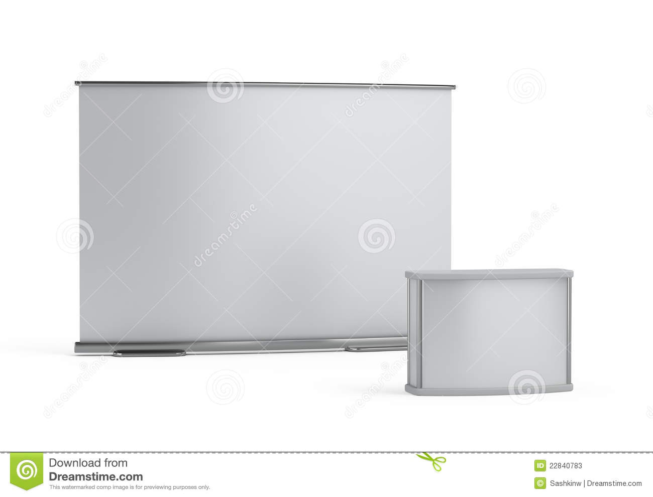 Exhibition Booth Blank : Blank trade show booth stock photos image