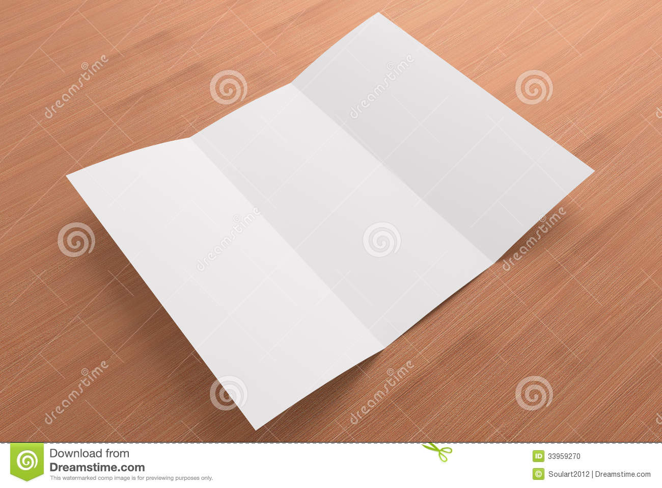 tri fold background