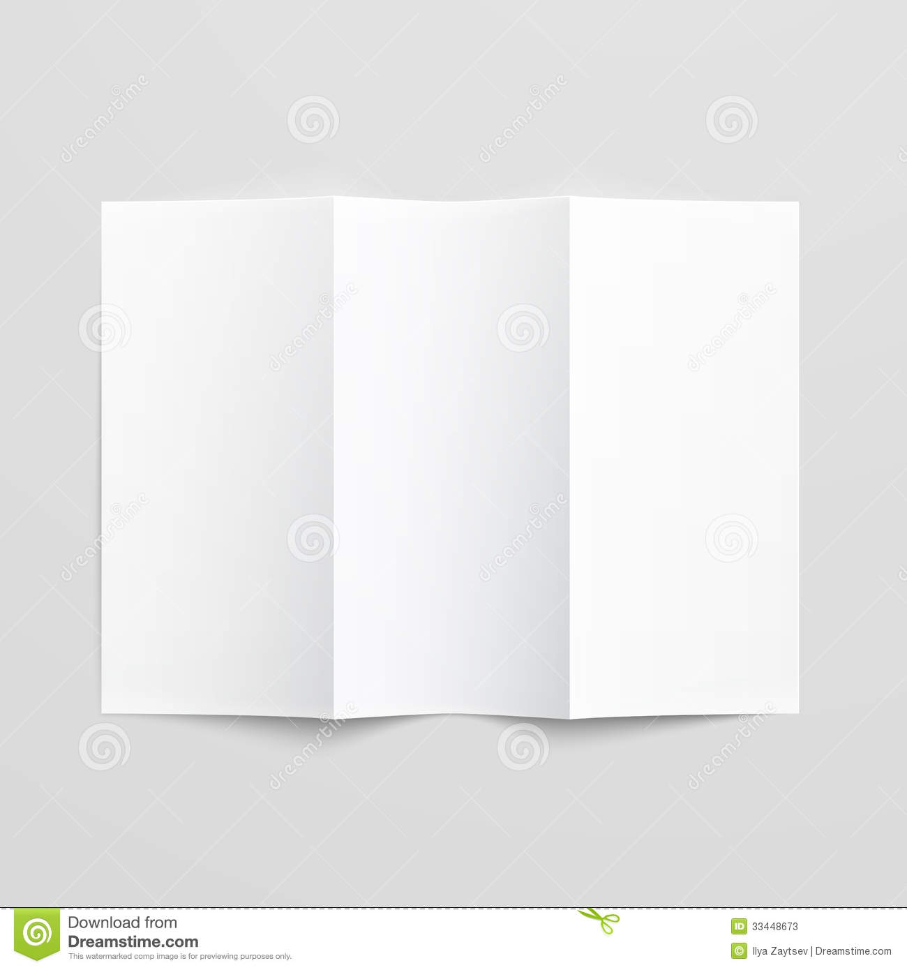 blank pamphlet template – Blank Tri Fold Brochure Template