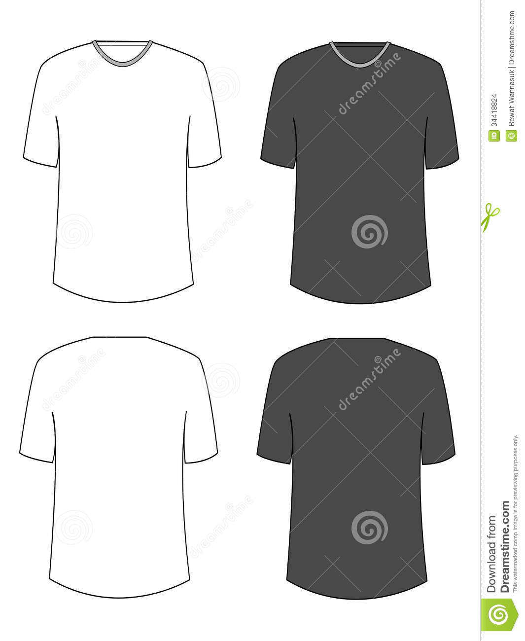 Design t shirt easy - Blank Tshirt Stock Images