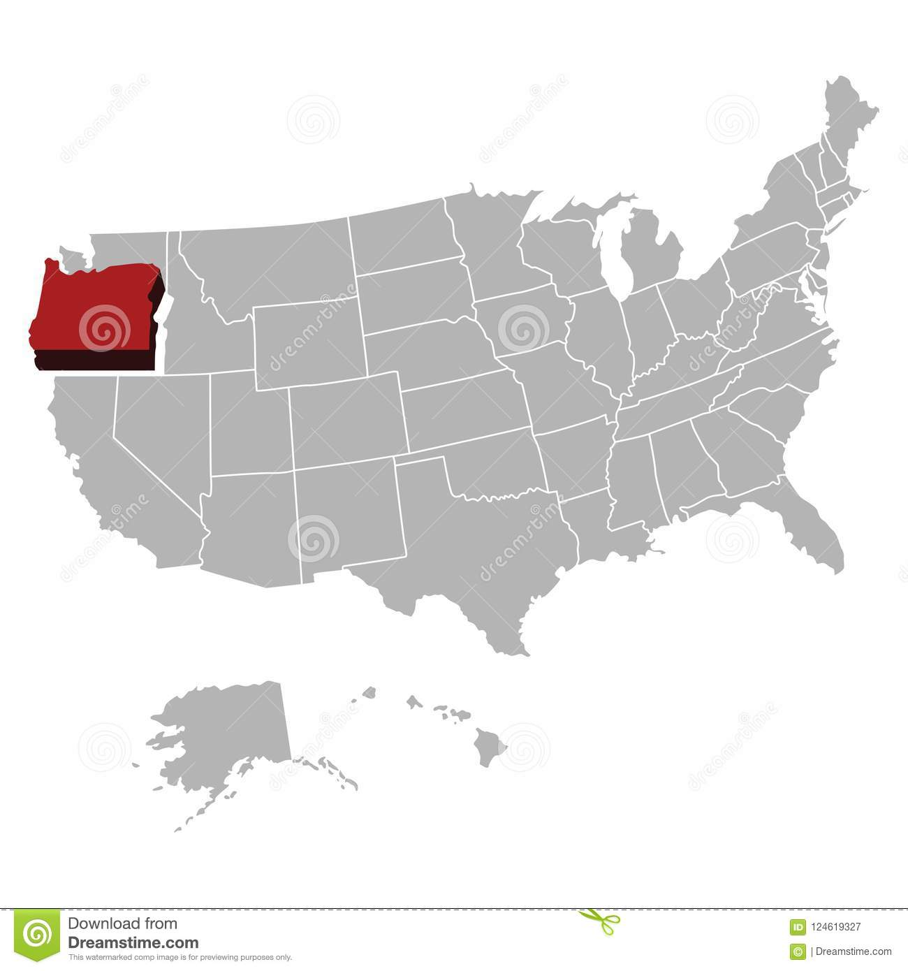 Super High Detail USA Map Vector And Flag Stock Illustration ...