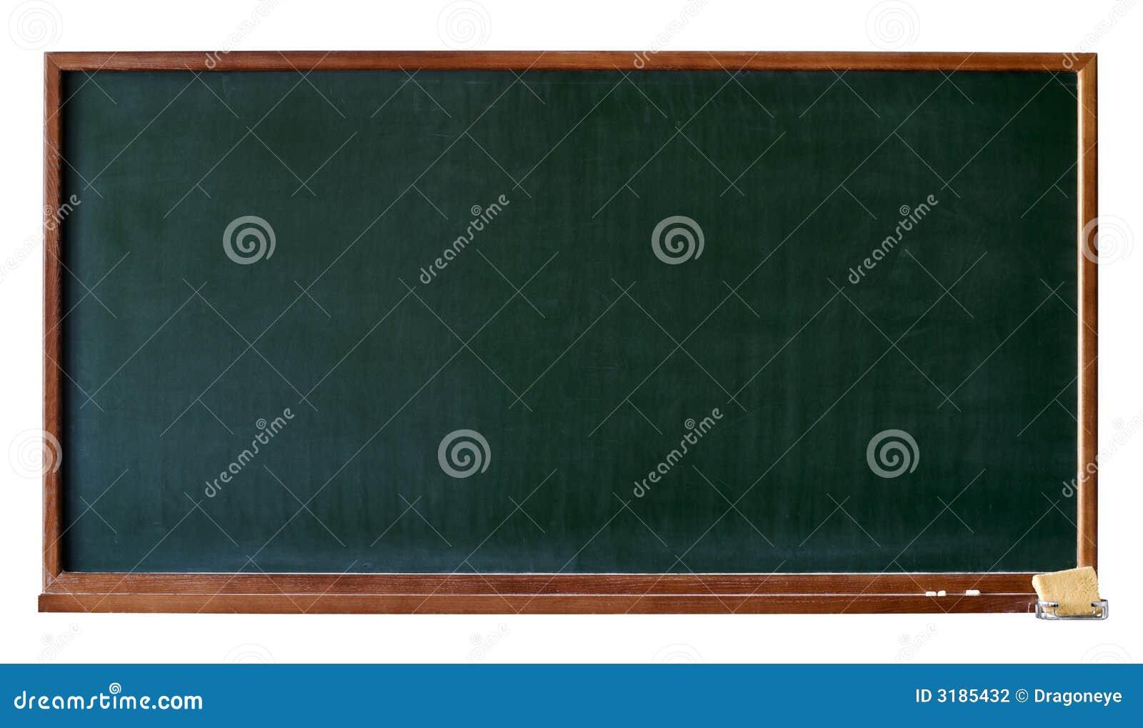 Blank utklippgreen för blackboard