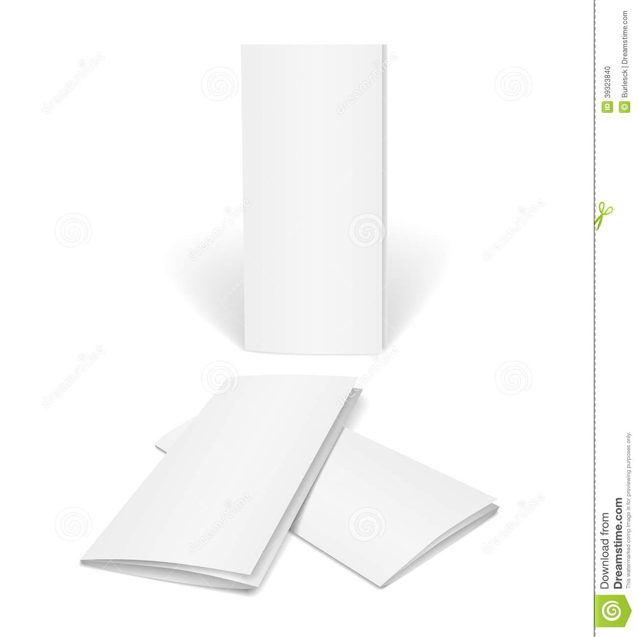 Blank Vector Brochure Template Stock Vector Illustration Of - Blank brochure templates