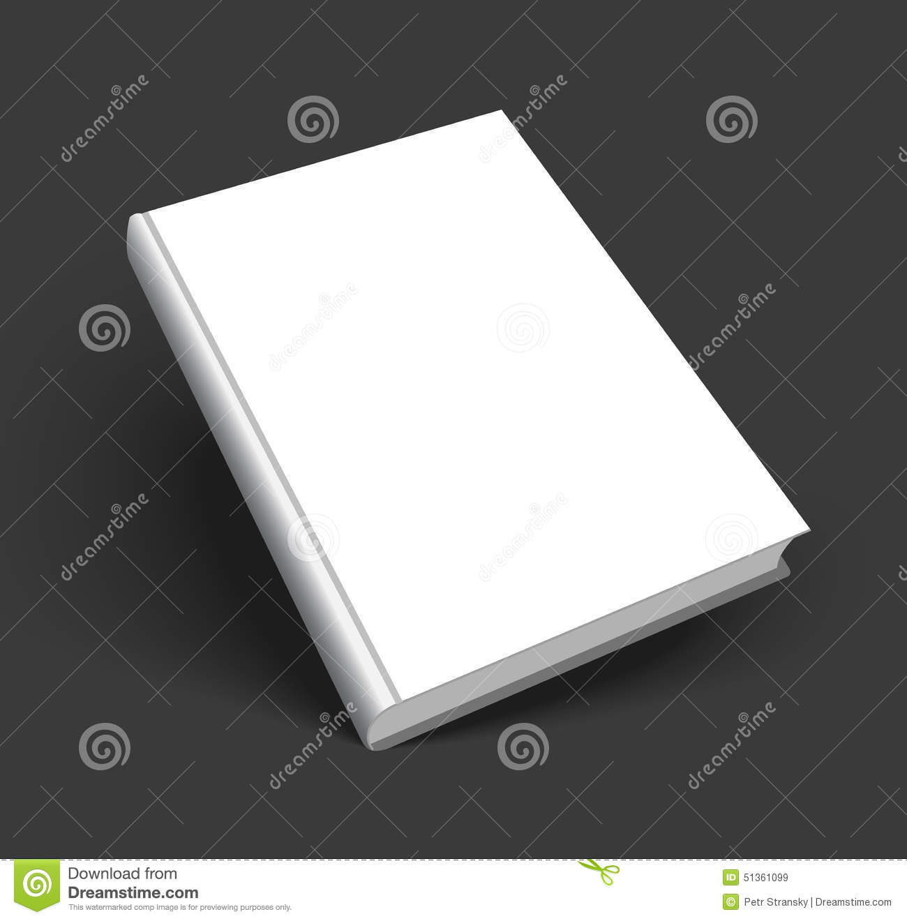 Book Cover Design Isolated Over Colorful Background : Blank book cover vector illustration isolated cartoon
