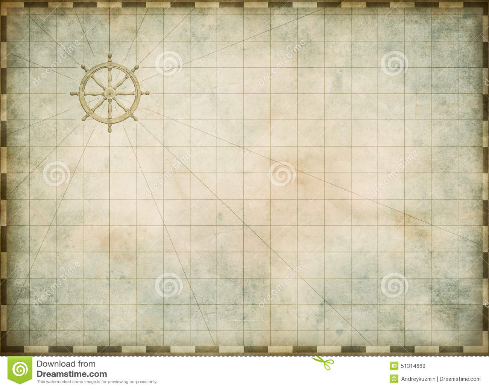 Vintage Nautical Map 26