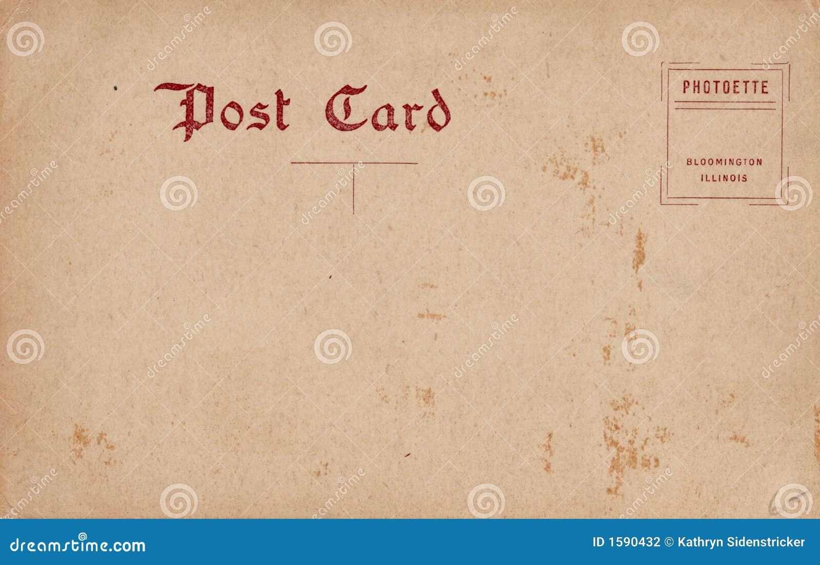 Italian handwritten postcard letter stock photo image 39254147 - Blank Vintage Postcard 1910 S Stock Photography Image 1590432