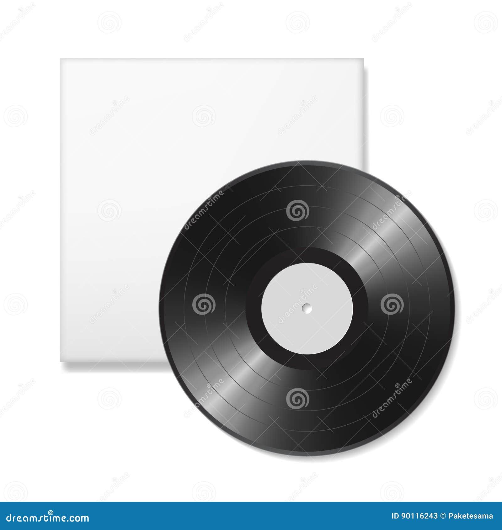 blank vinyl disc stock illustration illustration of detail 90116243