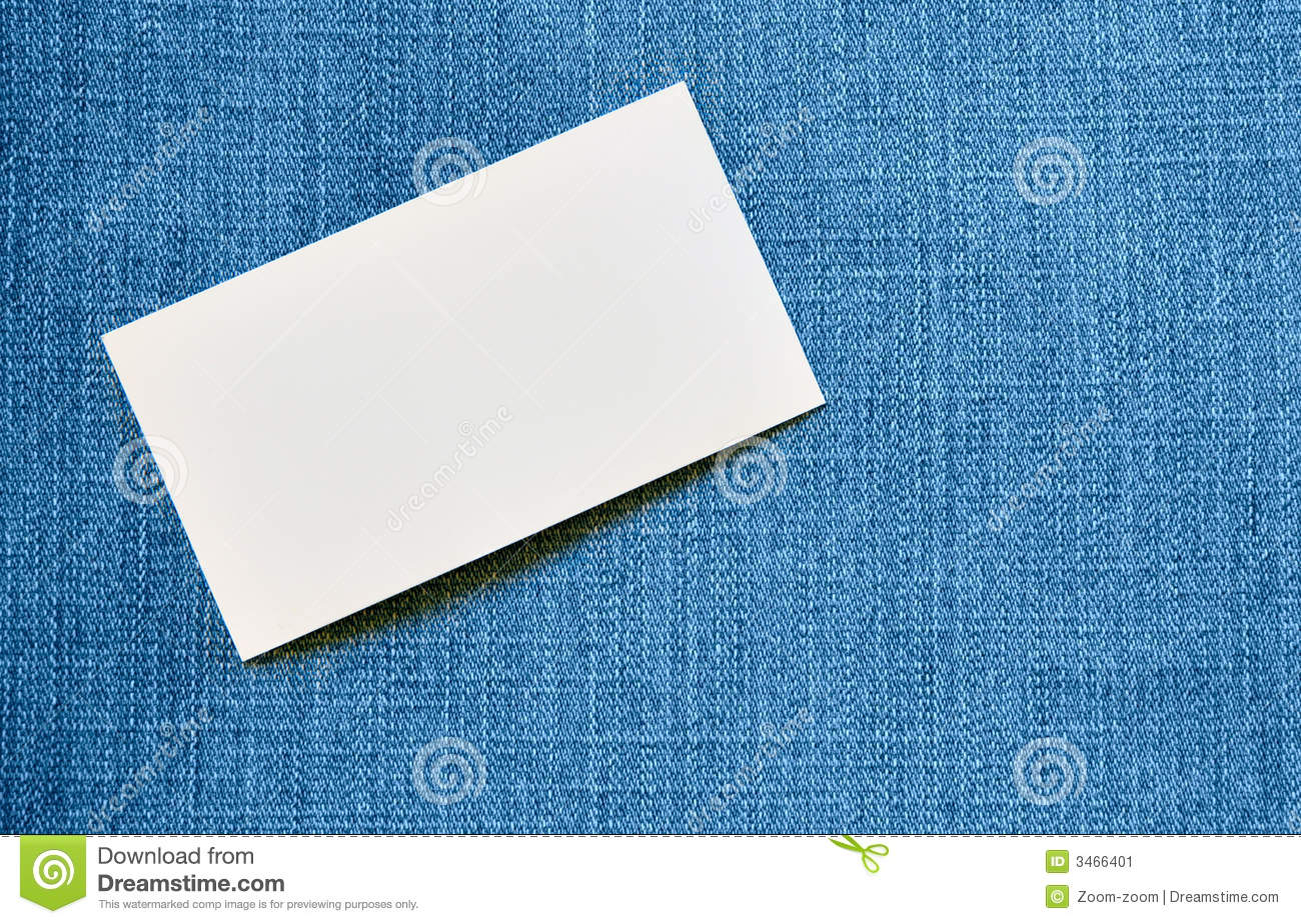 Blank visiting card stock image. Image of blank, canvas - 3466401