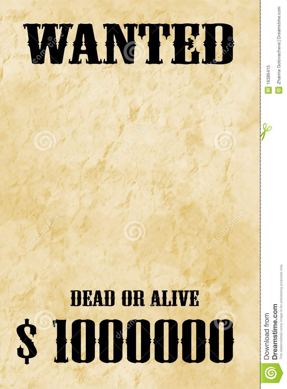 Doc450633 Most Wanted Poster Templates Doc450633 Most Wanted – Most Wanted Poster Templates