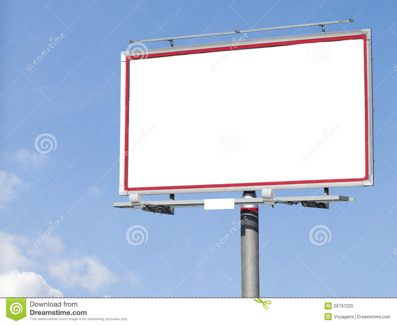 Empty Billboard Clipart - More information