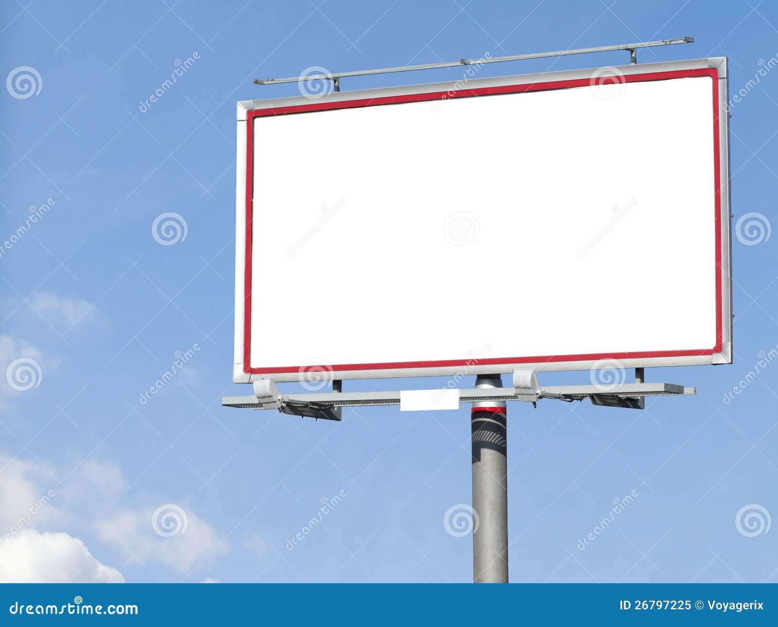 Empty Billboard Clipart - More information