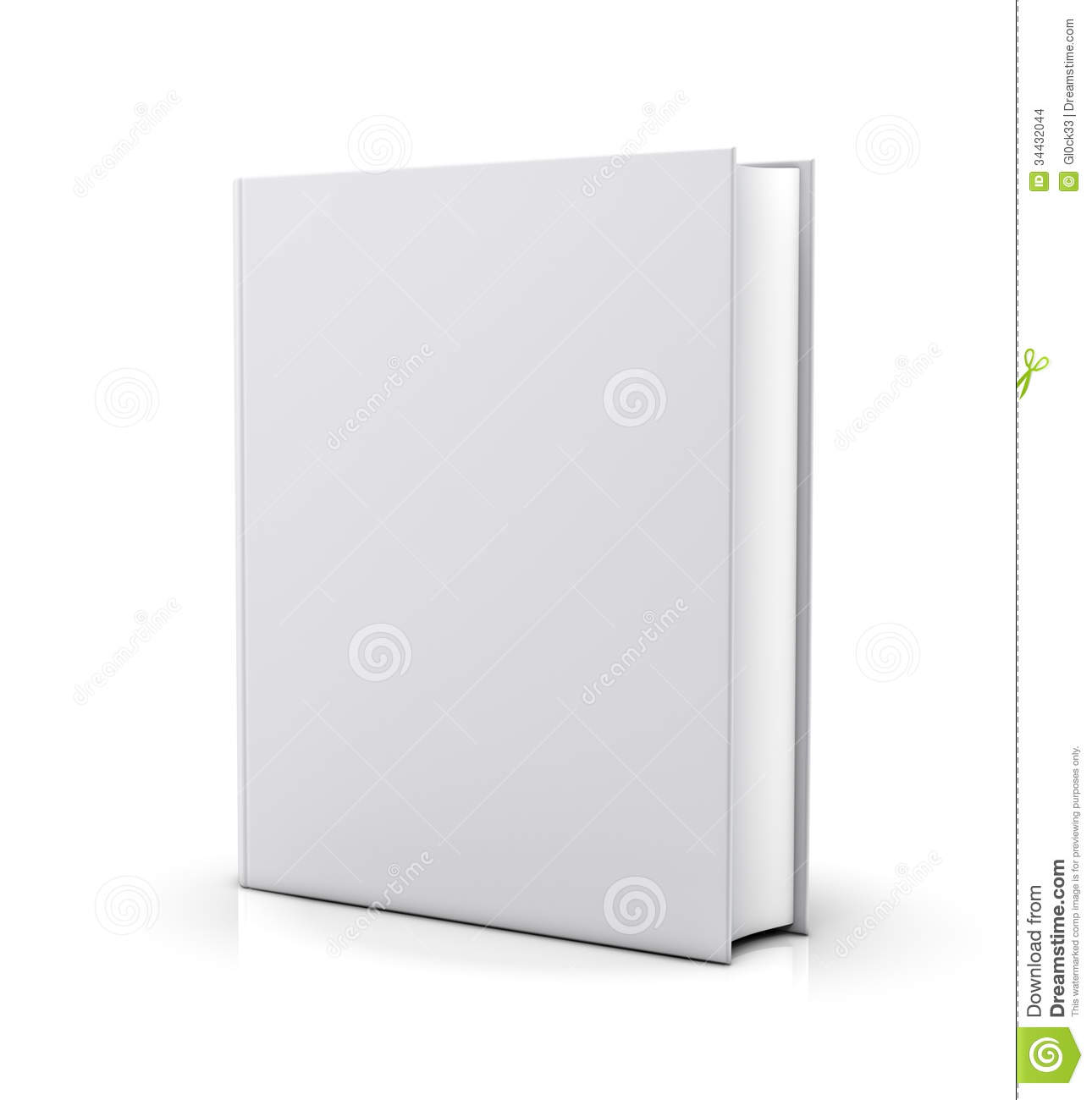 Book Cover Stock Images ~ Blank white book cover stock images image