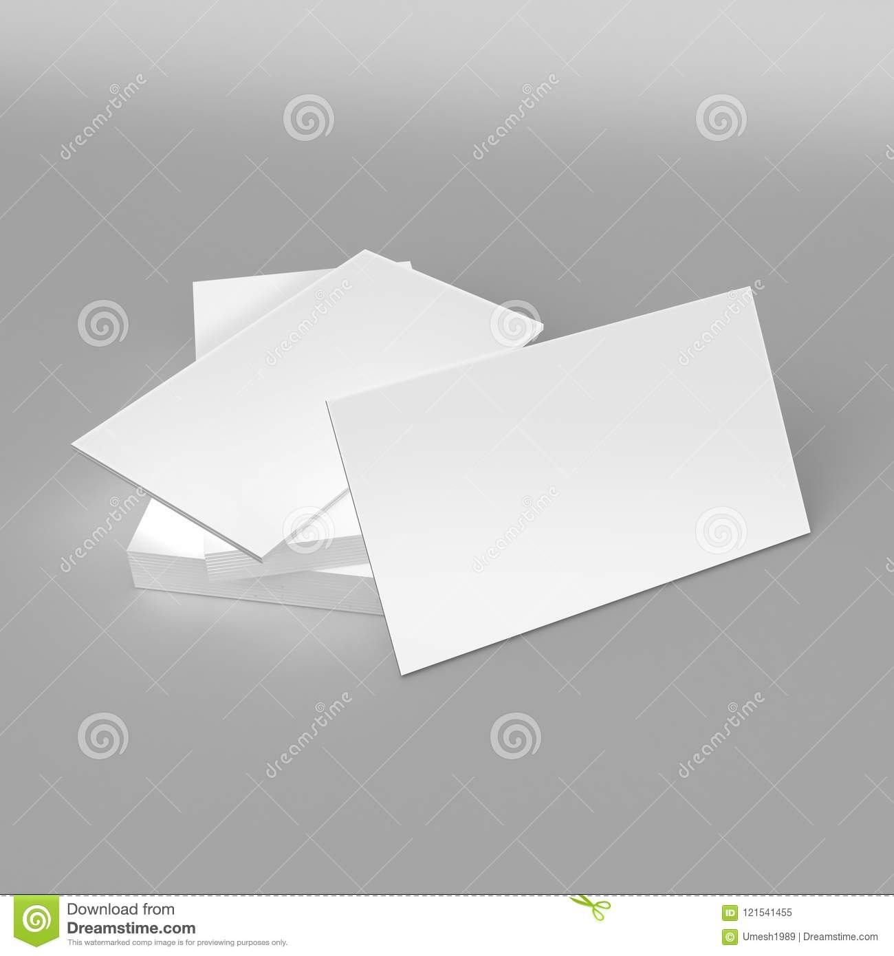 Blank white 3d visiting card template 3d render illustration for blank white 3d visiting card template 3d render illustration for mock up and design presentation cheaphphosting Gallery