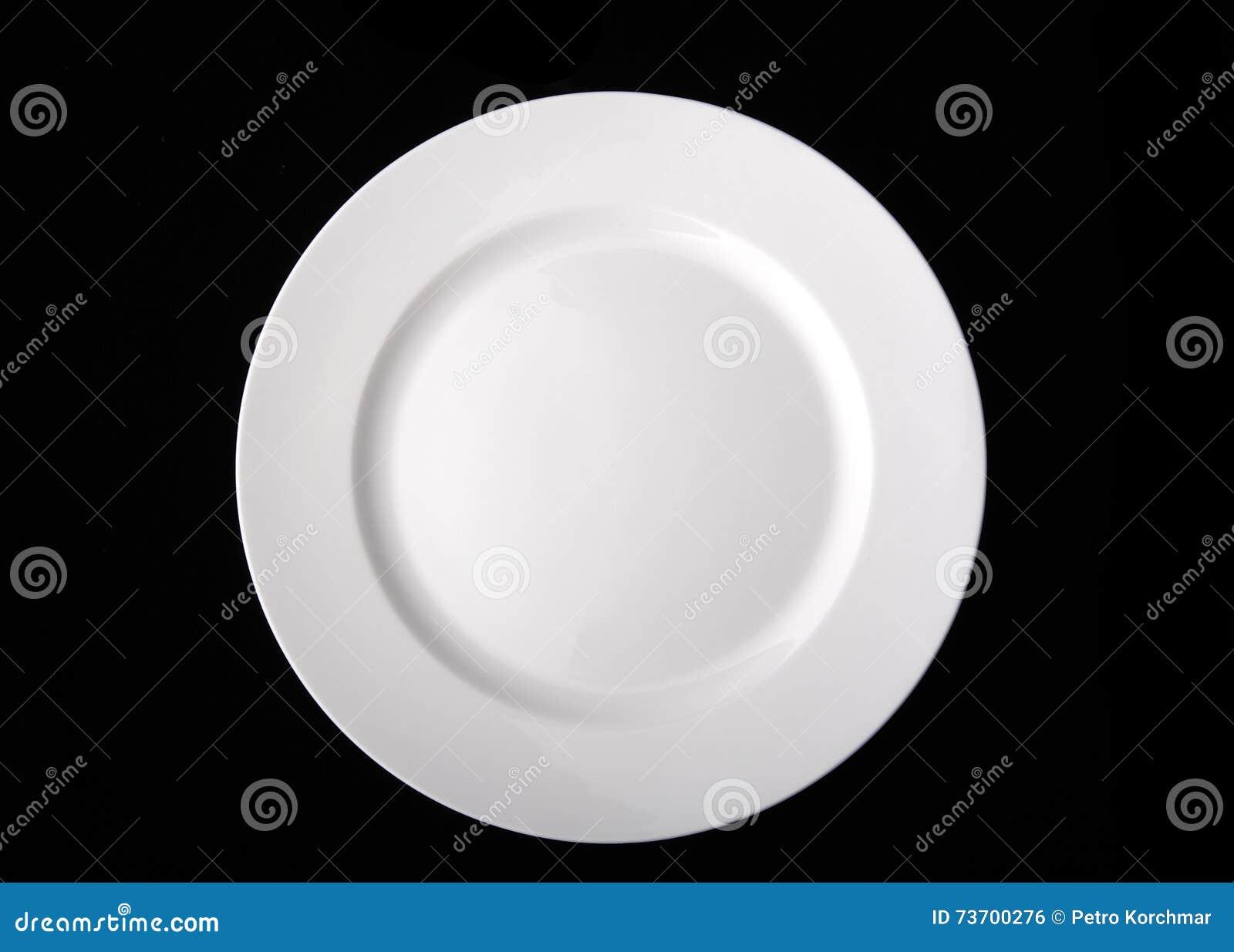 blank white dinner plate stock photo image 73700276