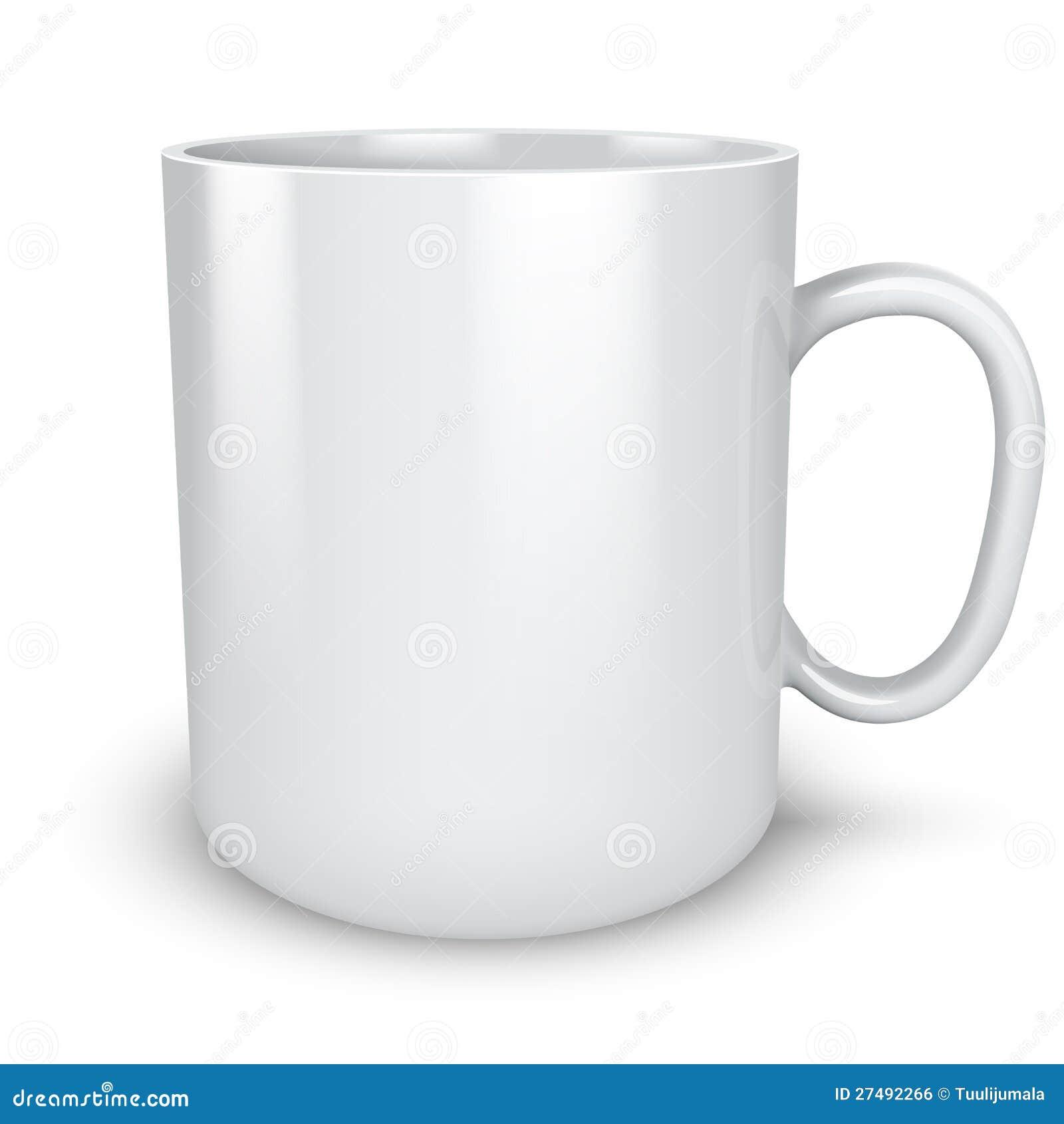 blank white mug royalty free stock image image 27492266. Black Bedroom Furniture Sets. Home Design Ideas