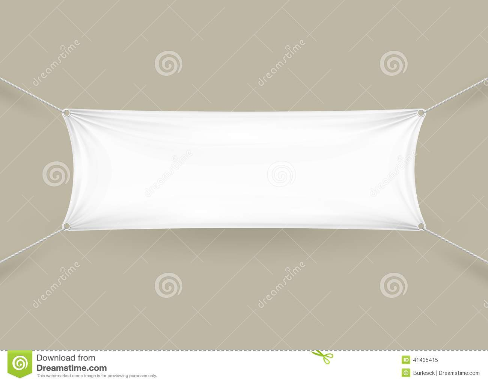 Blank Vinyl Banners | White Gold