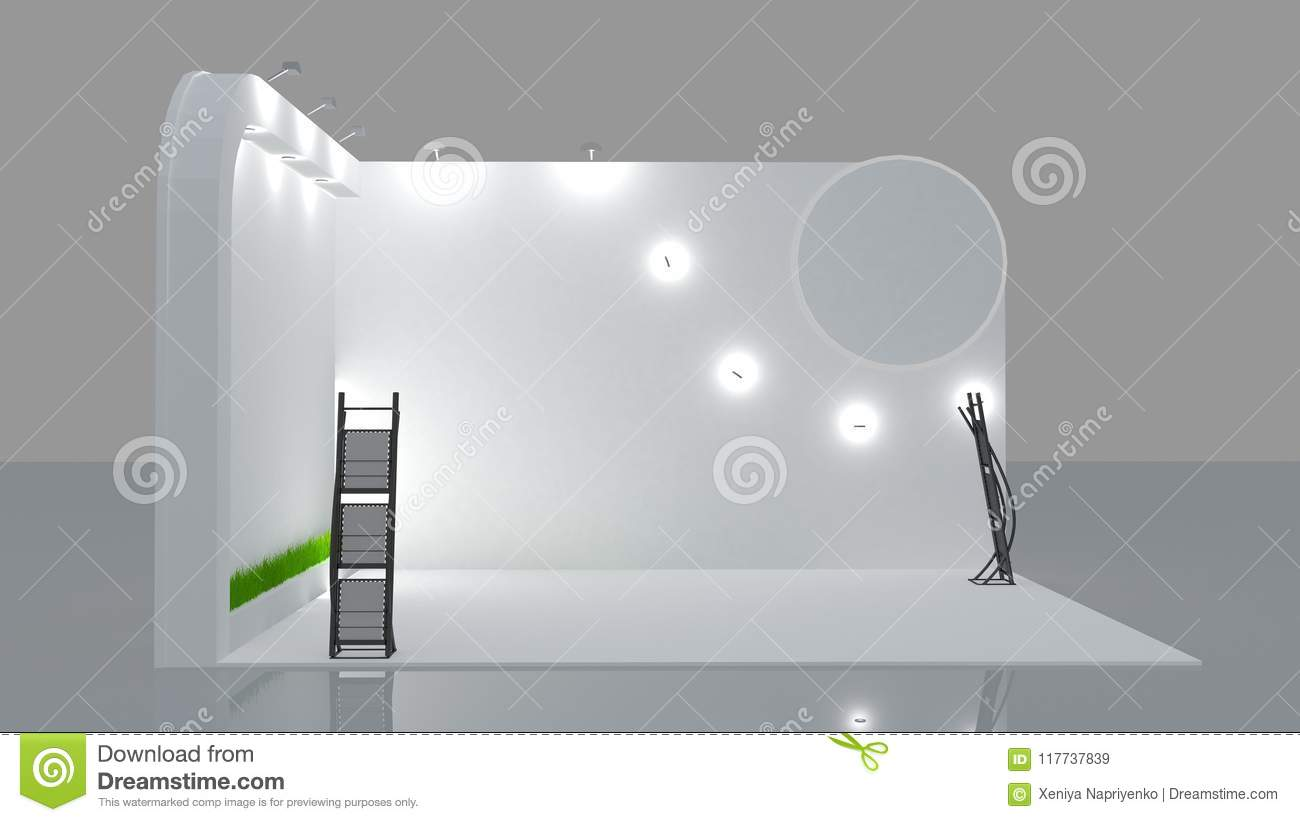Exhibition Booth Animation : Technology logiciel d animation engineering television