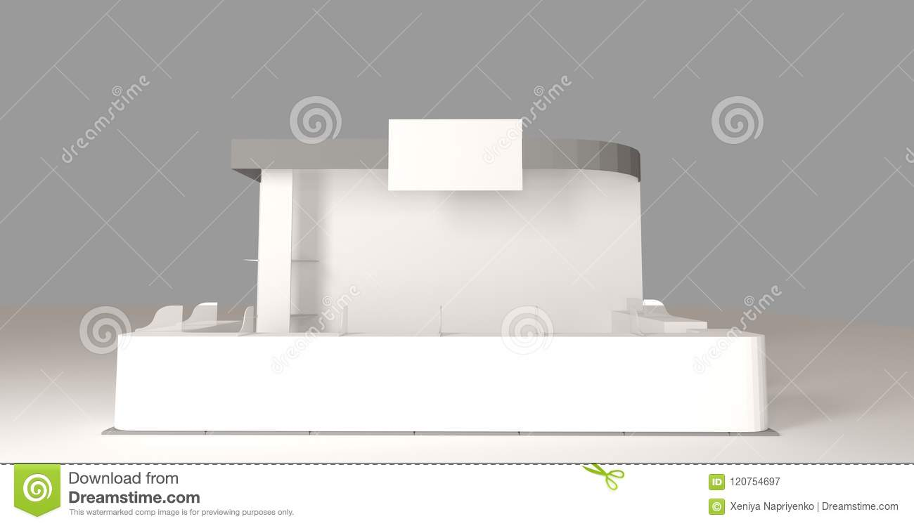 Exhibition Booth Blank : Stock illustration exhibition booth stock art illustrations