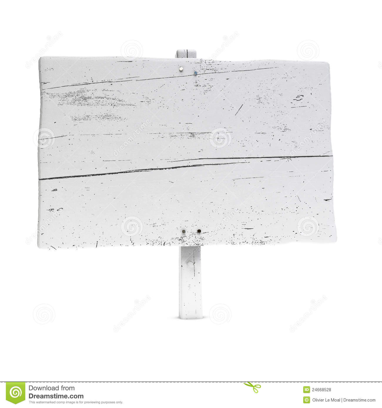 Blank wooden sign stock photo. Image of post, nail, nobody ...