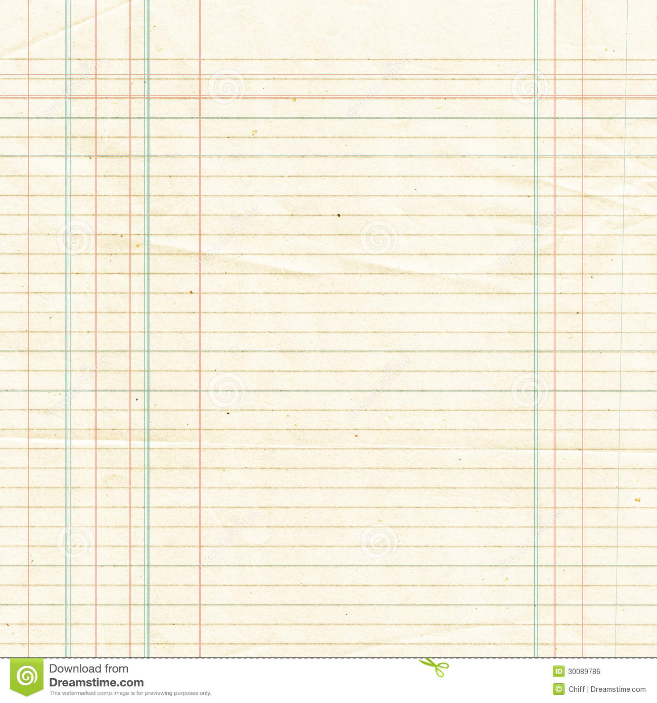Sepia Lined Paper Sheet Background Or Textured Royalty Free Stock