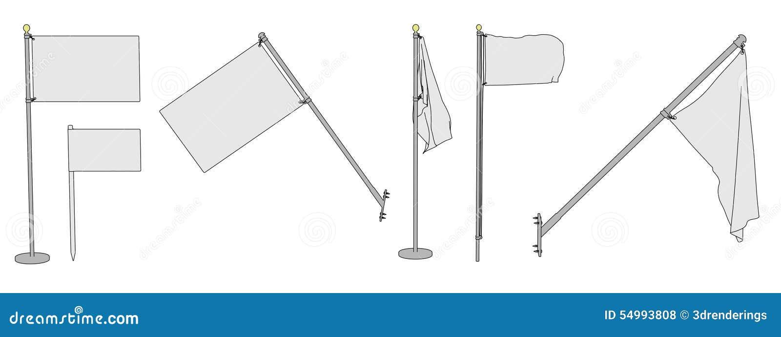 Blanka flaggor