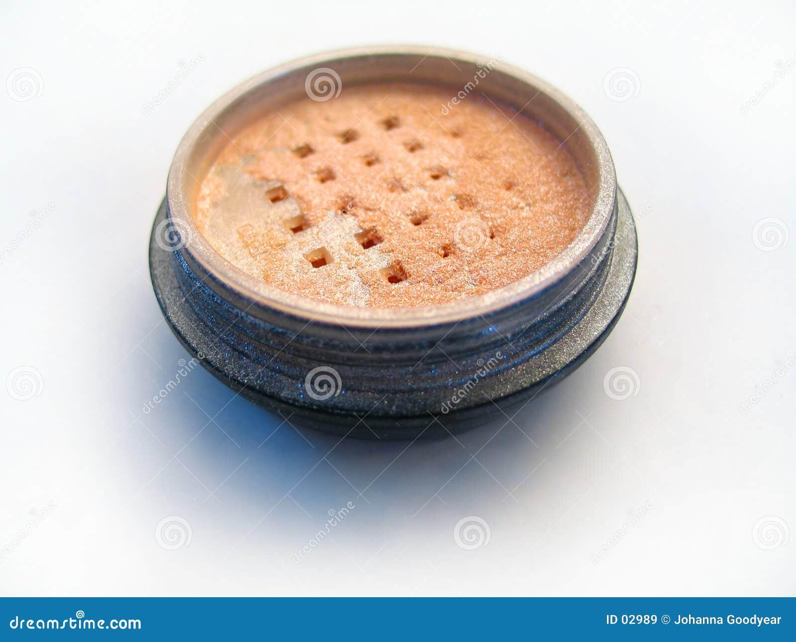 Blankt makeuppulver