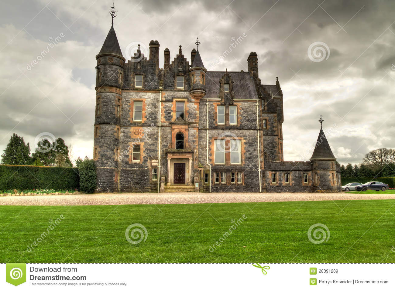 Blarney house at the castle royalty free stock images for The blarney house plan