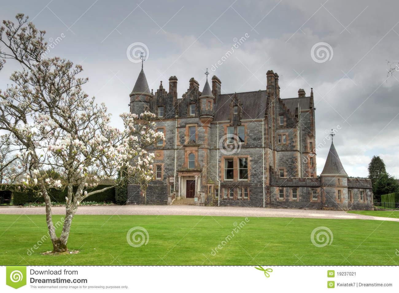 Stock image blarney house in ireland image 19237021 for The blarney house plan
