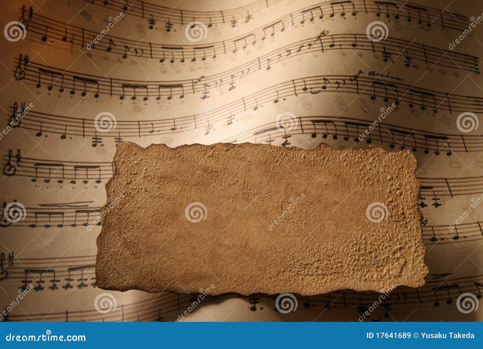 Blatt-Musik-Nahaufnahme.