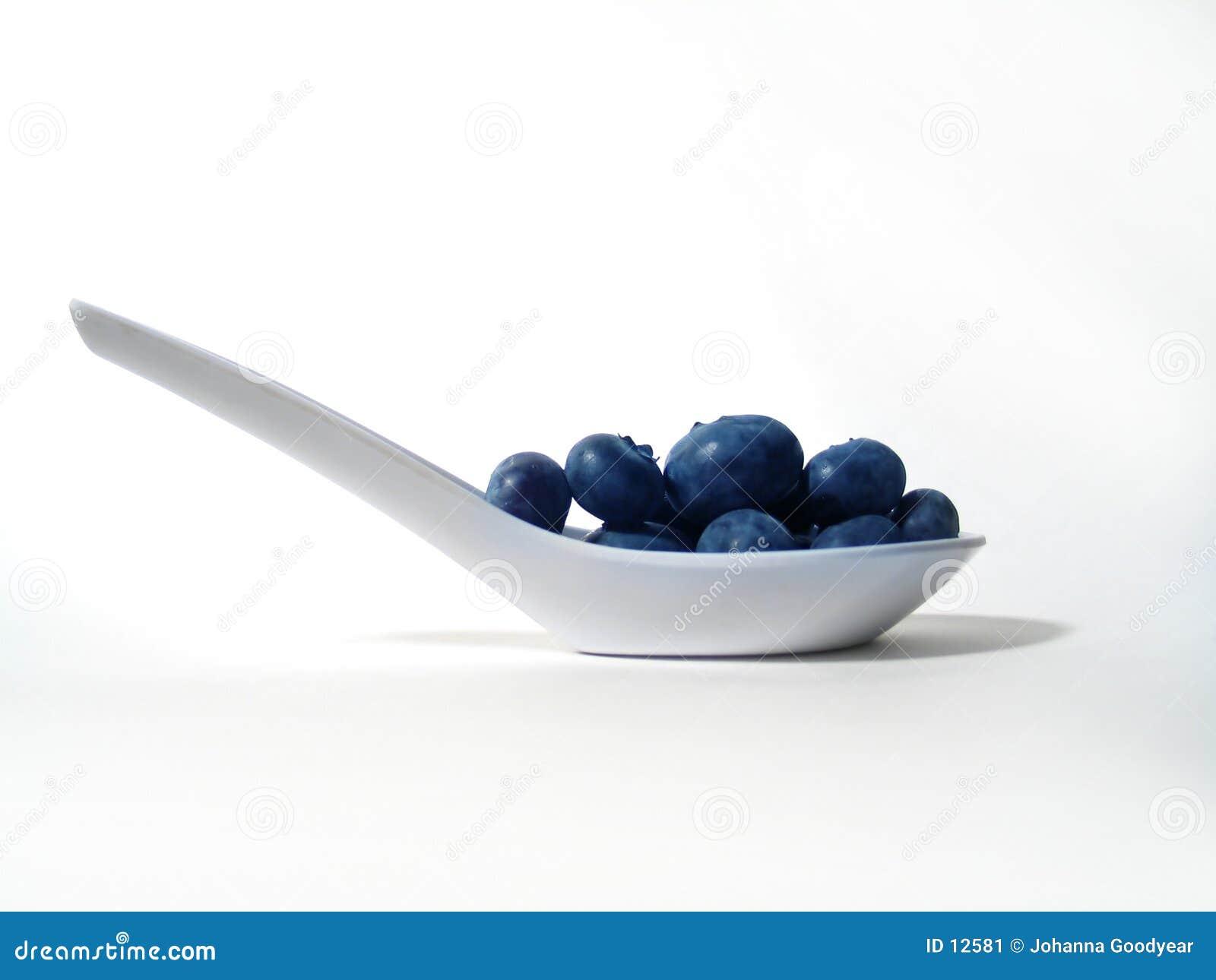 Blaubeere-Schaufel