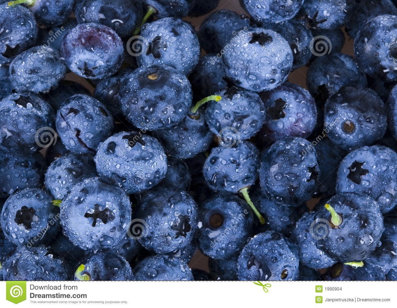 blaubeeren stockfoto bild von w rfel blaubeeren frucht. Black Bedroom Furniture Sets. Home Design Ideas