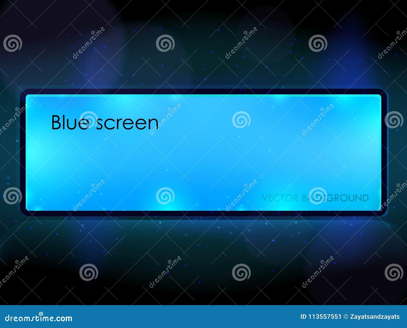 Blaue Anschlagtafel