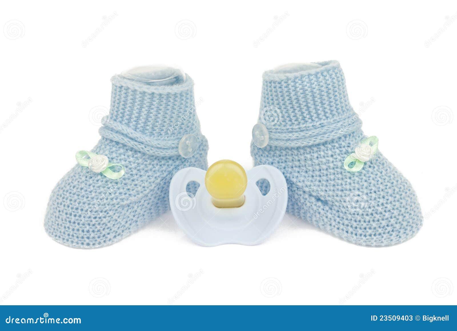 nice shoes 24c70 f01bf Blaue Babyschuhe Und Attrappe Stockbild - Bild von blau ...