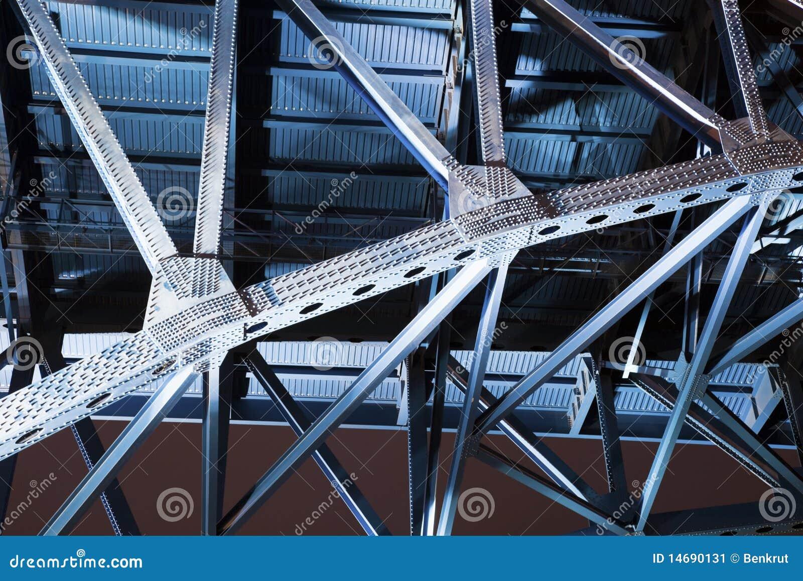 Blaue Brücke in Cleveland