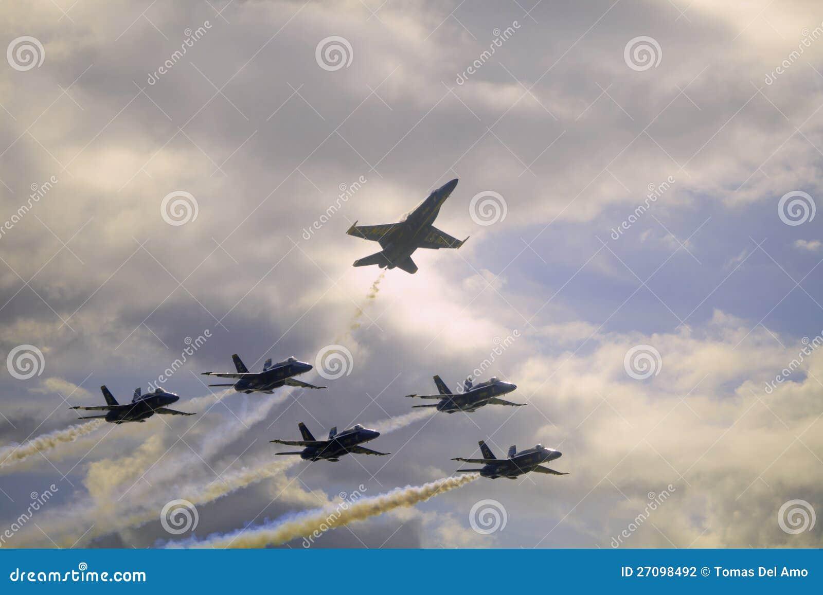 Blaue Engel bei Kaneohe Airshow