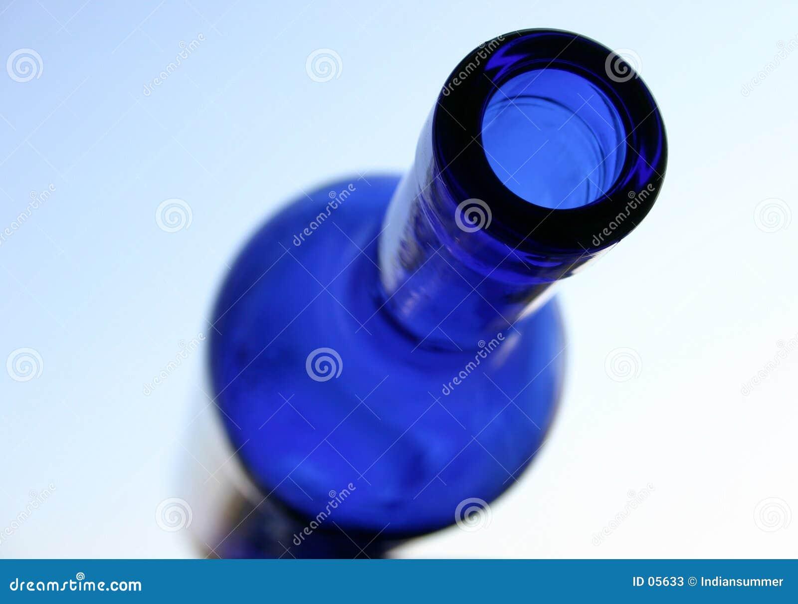 Blaue Flasche II