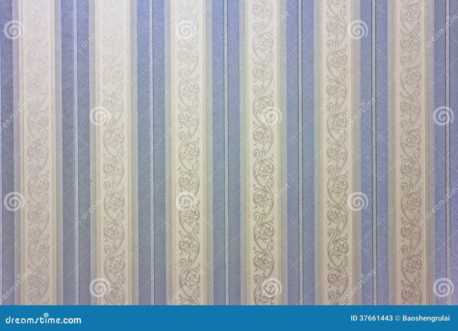 Blaue gestreifte tapete stock abbildung illustration von for Blaue tapete
